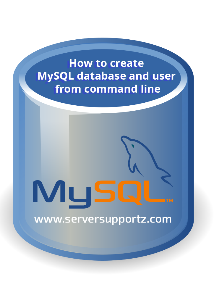 How to create MySQL database and user from command line