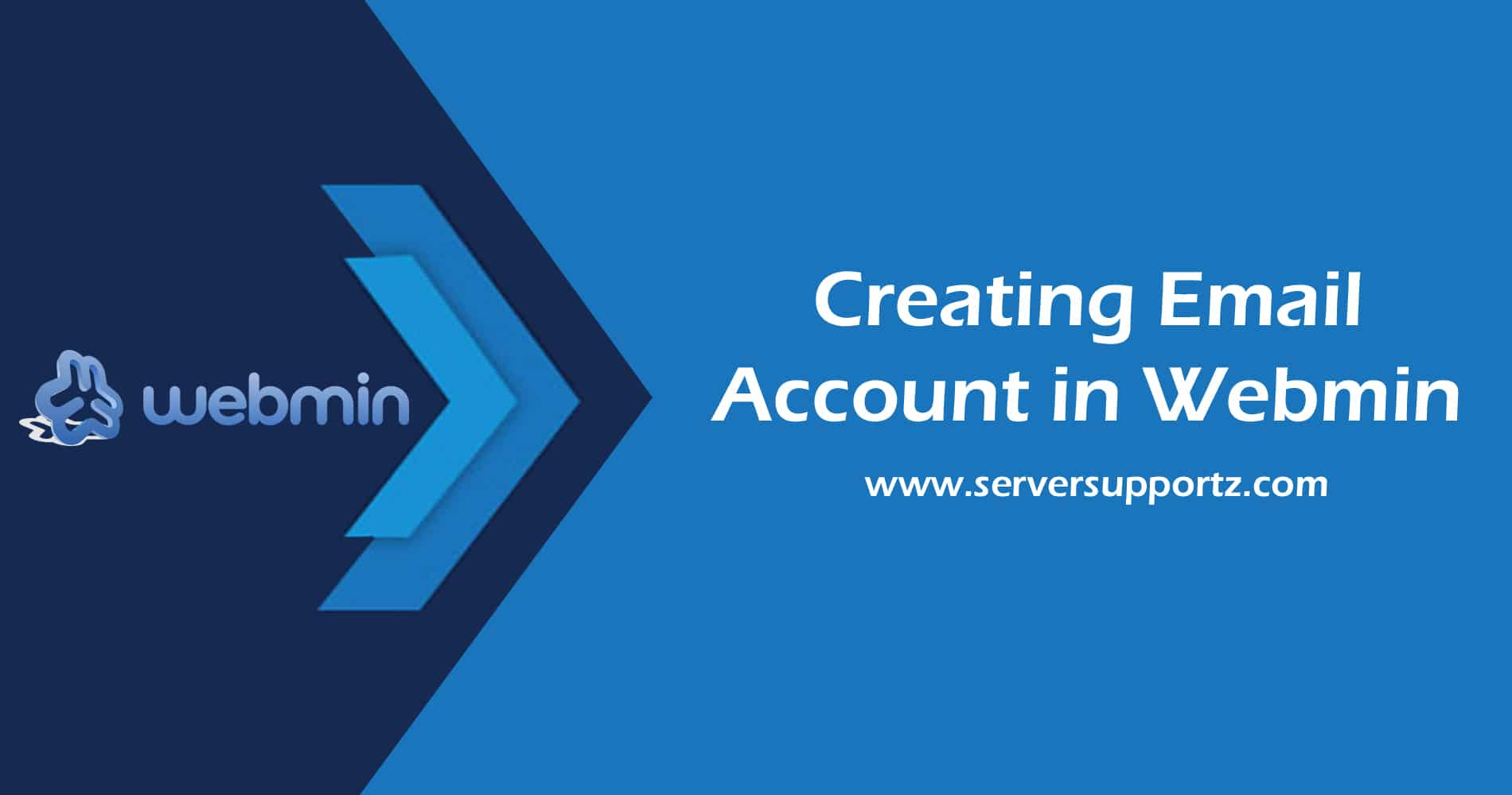 How To Create Email Account In Webmin